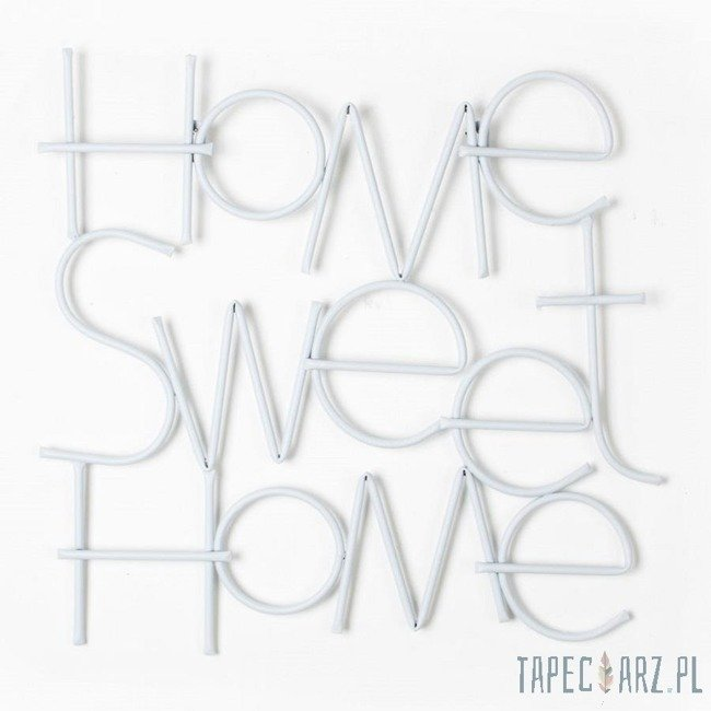 Dekoracja ścienna - Napis Sweet Home 41-222