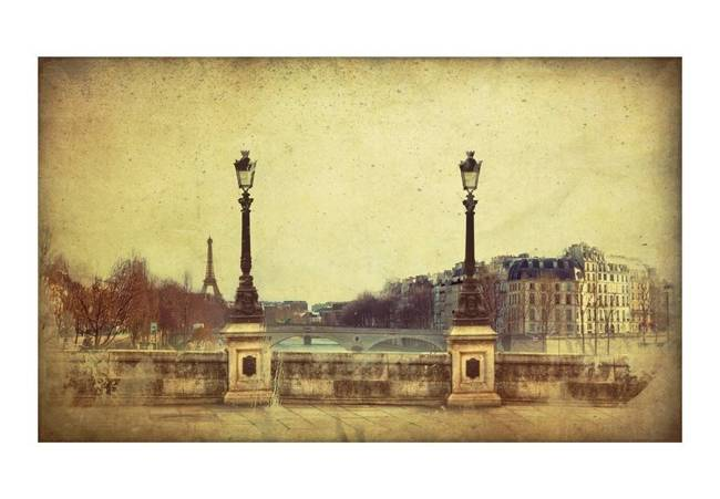Fototapeta - Adieu Paris!