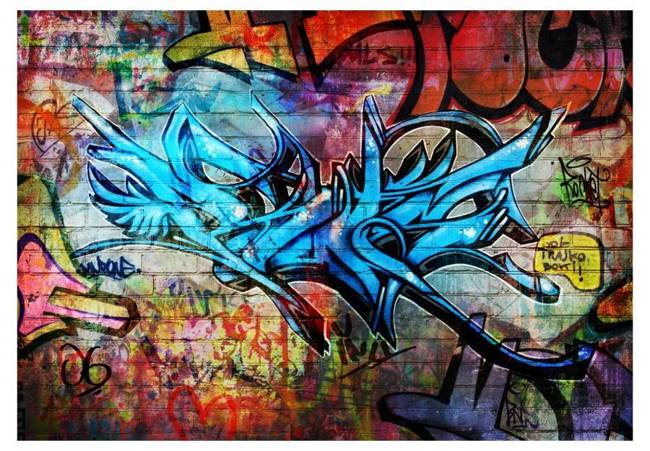 Fototapeta - Art crime