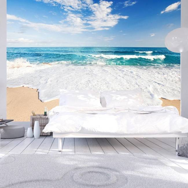 Fototapeta - Bałwany morskie