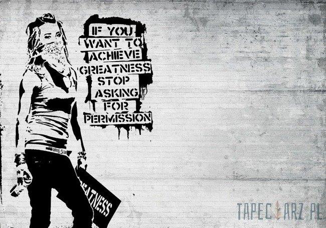 Fototapeta Banksy 2899