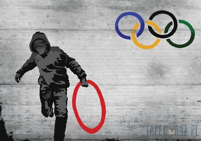 Fototapeta Banksy 3024