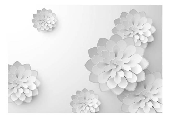 Fototapeta - Biały ogród