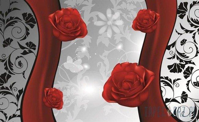 Fototapeta Czerwona róża 1210