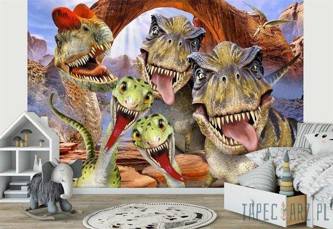 Fototapeta Dinozaury- Selfies 12845