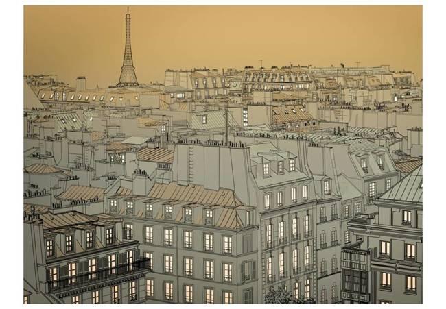 Fototapeta - Dobranoc Paryżu