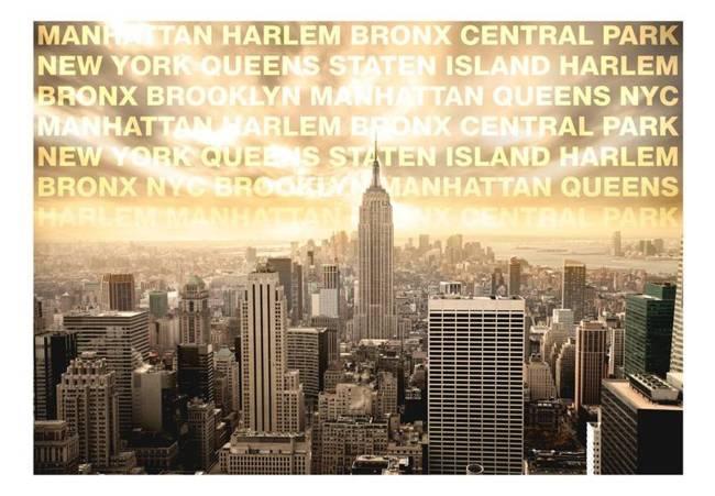 Fototapeta - Dzielnice Nowego Jorku
