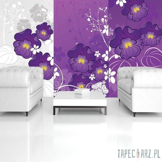 Fototapeta Fioletowa kompozycja kwiatowa 852