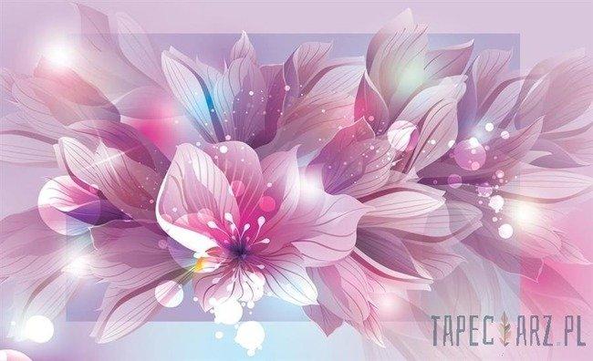 Fototapeta Fioletowe kwiaty 762