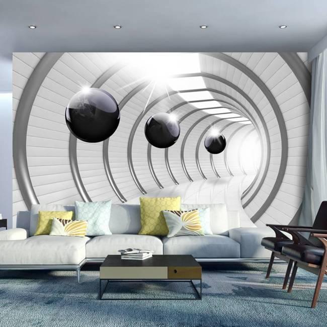 Fototapeta - Futurystyczny tunel