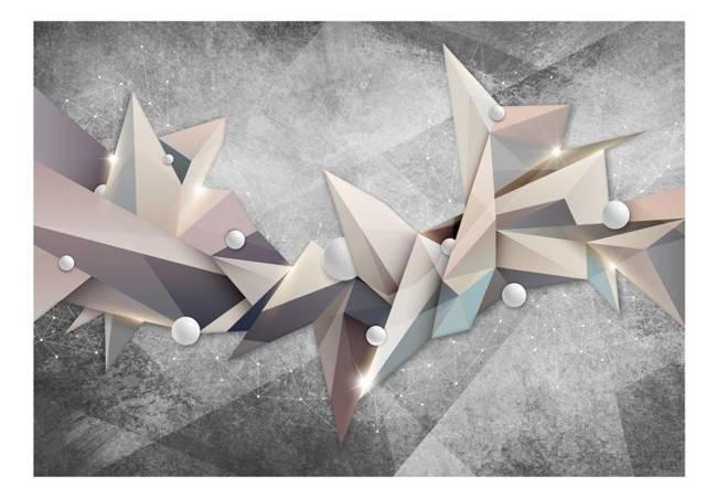 Fototapeta - Geometryczny gwiazdozbiór