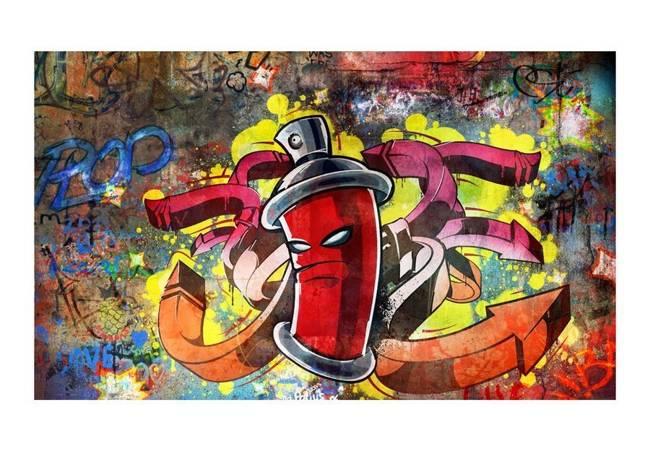 Fototapeta - Graffiti monster