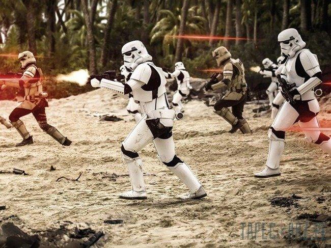 Fototapeta KOMAR 011-DVD2 Star Wars Imperial Strike