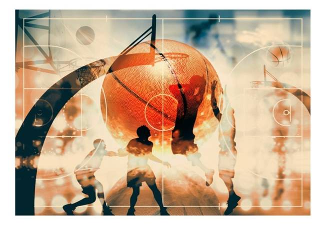 Fototapeta - Kocham koszykówkę!