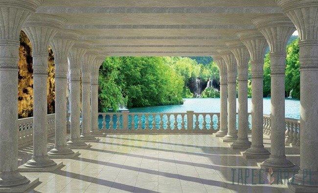 Fototapeta Kolumnada nad jeziorem 1357