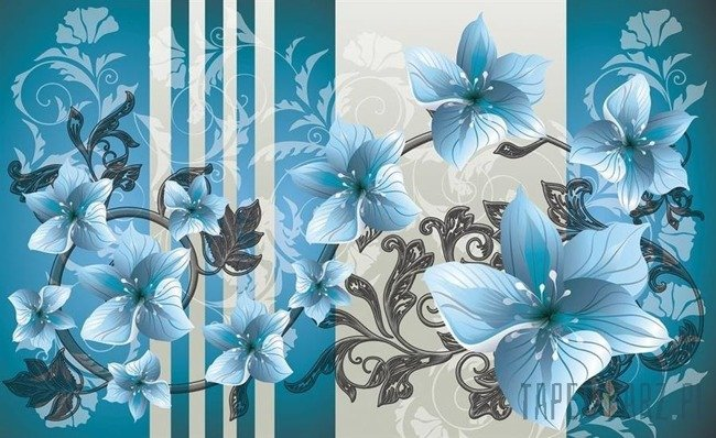 Fototapeta Kwiatowy ornament 1205