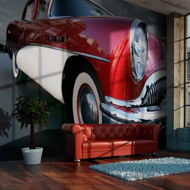 Fototapeta - Luksusowy amerykański wóz