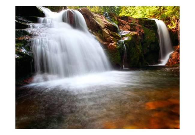 Fototapeta - Mały wodospad na Łabie
