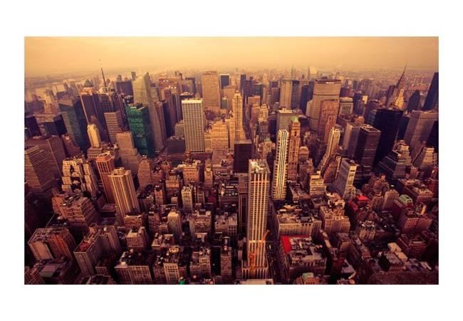 Fototapeta - Manhattan z lotu ptaka, Nowy Jork