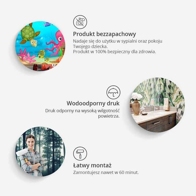 Fototapeta - Mapa świata: Ceglany mur