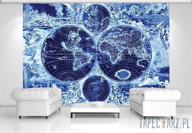 Fototapeta Mapa świata i władcy mórz 2820