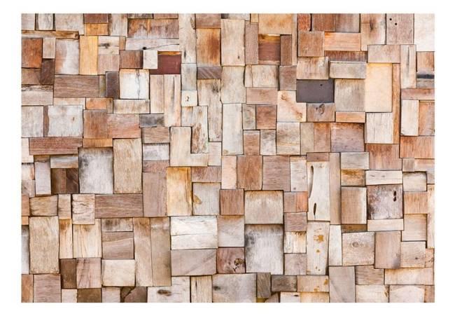 Fototapeta - Modrzewiowa mozaika