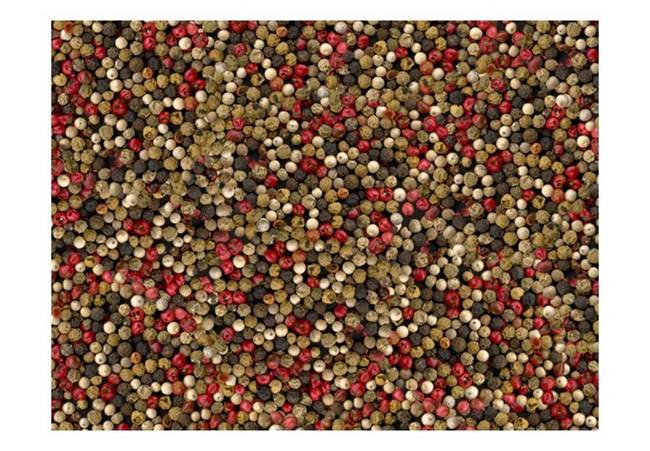 Fototapeta - Mozaika z kolorowego pieprzu
