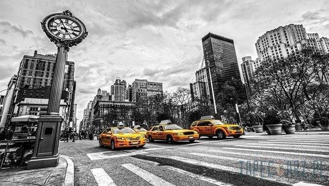 Fototapeta Nowojorskie taksówki 1171