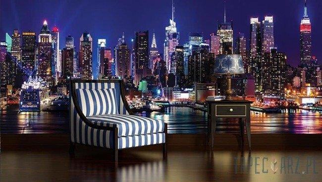 Fototapeta Nowy Jork nocą 1310