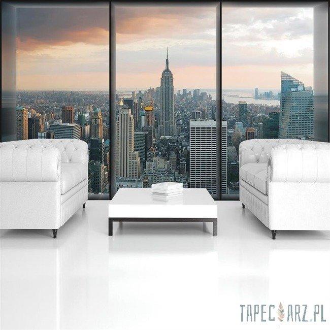 Fototapeta Nowy Jork - widok za oknem 493