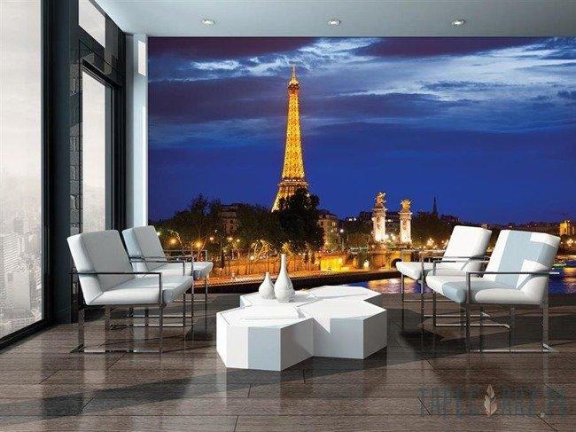 Fototapeta Paryż - Wieża Eiffla nocą 3394