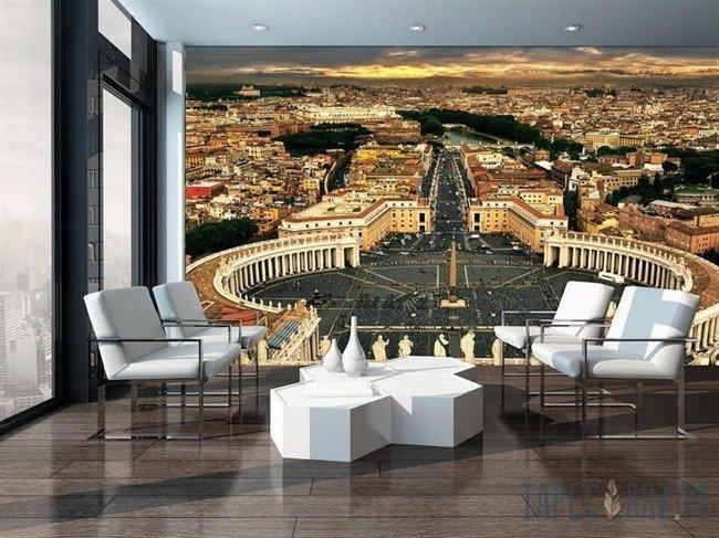 Fototapeta Plac Świętego Piotra w Watykanie 3392