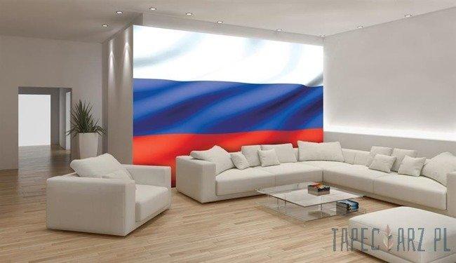 Fototapeta Powiewająca flaga Rosji 488
