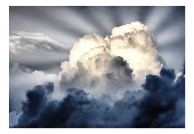 Fototapeta - Promienie na niebie