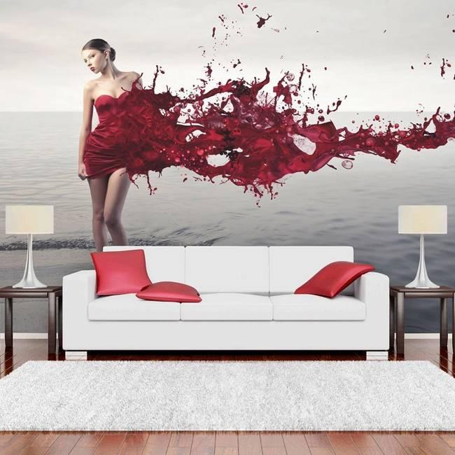 Fototapeta - Red beauty