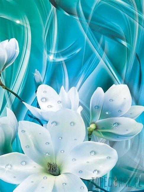 Fototapeta Rosa na kwiatach 10569