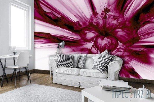 Fototapeta Różowy abstrakcyjny kwiat 3533