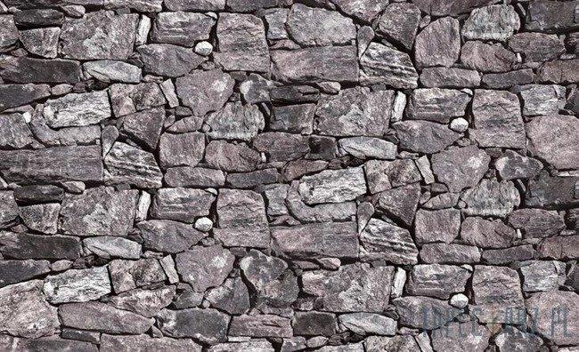 Fototapeta Szara kamienna ściana - skały 2191