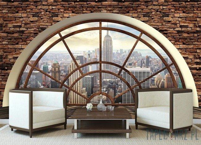 Fototapeta Widok na Nowy Jork przez okno 2397