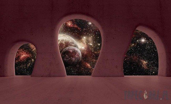 Fototapeta Widok na kosmos 2826