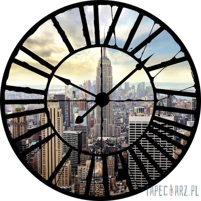 Fototapeta Widok przez zegar na Empire State Building 10160