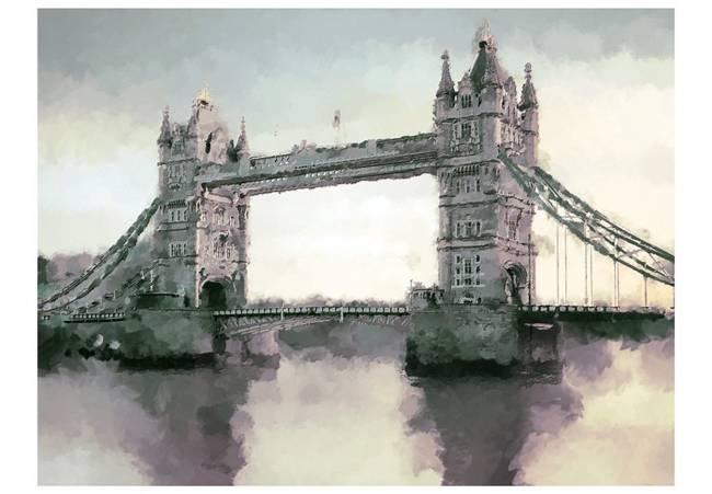 Fototapeta - Wiktoriański Tower Bridge