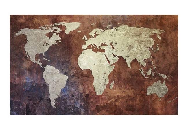 Fototapeta - Żelazne kontynenty