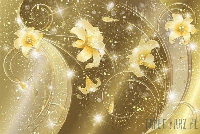Fototapeta Złote lilie 2342