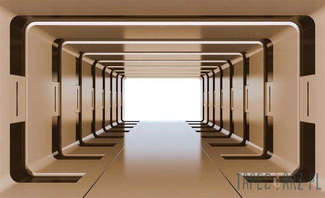 Fototapeta Złoty tunel 3D 2800