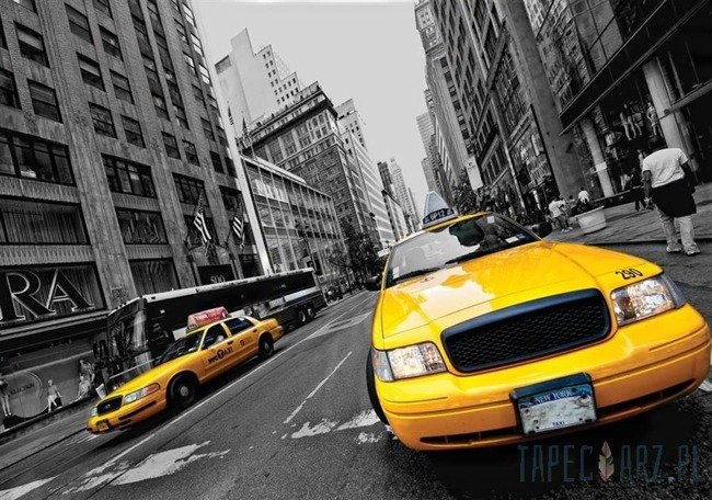 Fototapeta Żółte taksówki 2766