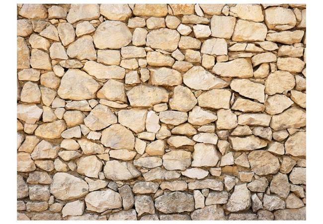 Fototapeta - iluzja - kamień