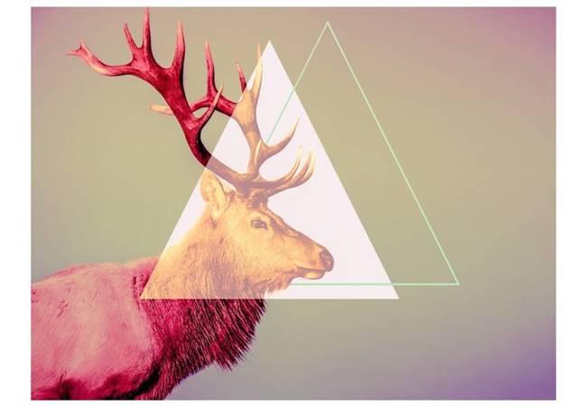 Fototapeta - jeleń (motyw graficzny)