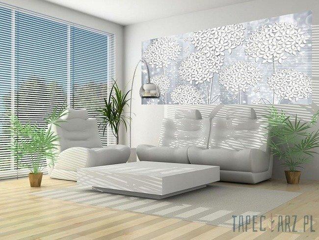 Fototapeta na flizelinie Białe kwiaty 3501VEP