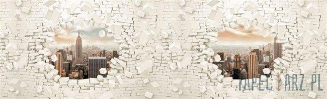 Fototapeta na flizelinie Nowy Jork - abstrakcja 2720VEE